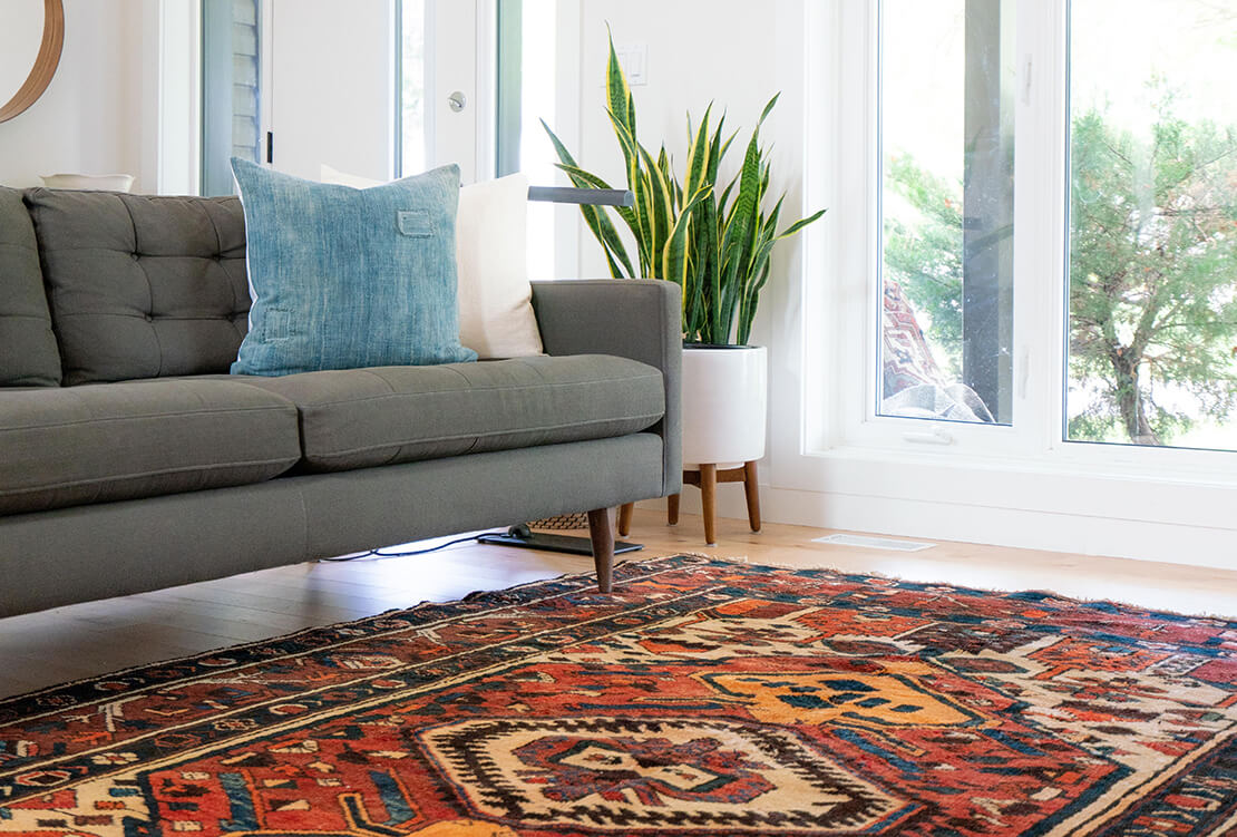 Area rug placement tips & tricks