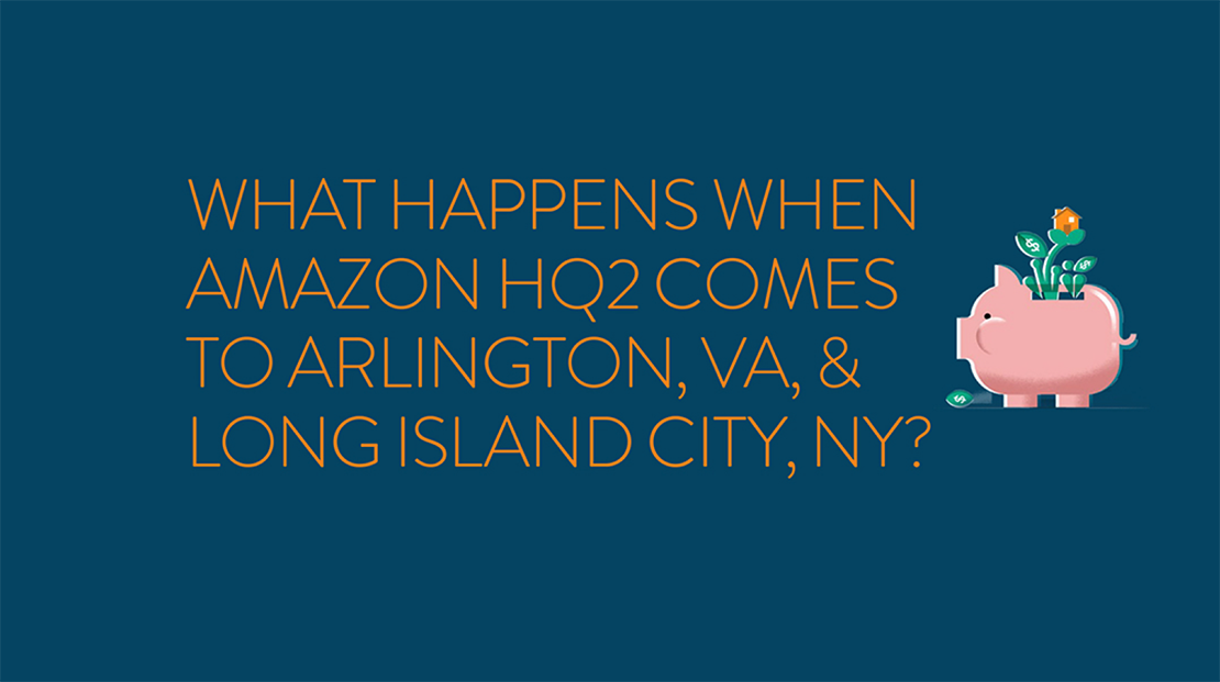 Amazon HQ2 Cities — Arlington VA & Long Island City NY — Announced