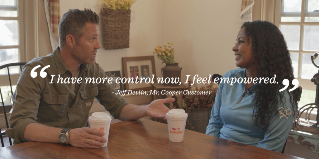 Jeff Devlin's customer testimonial for Coffee With A Cooper