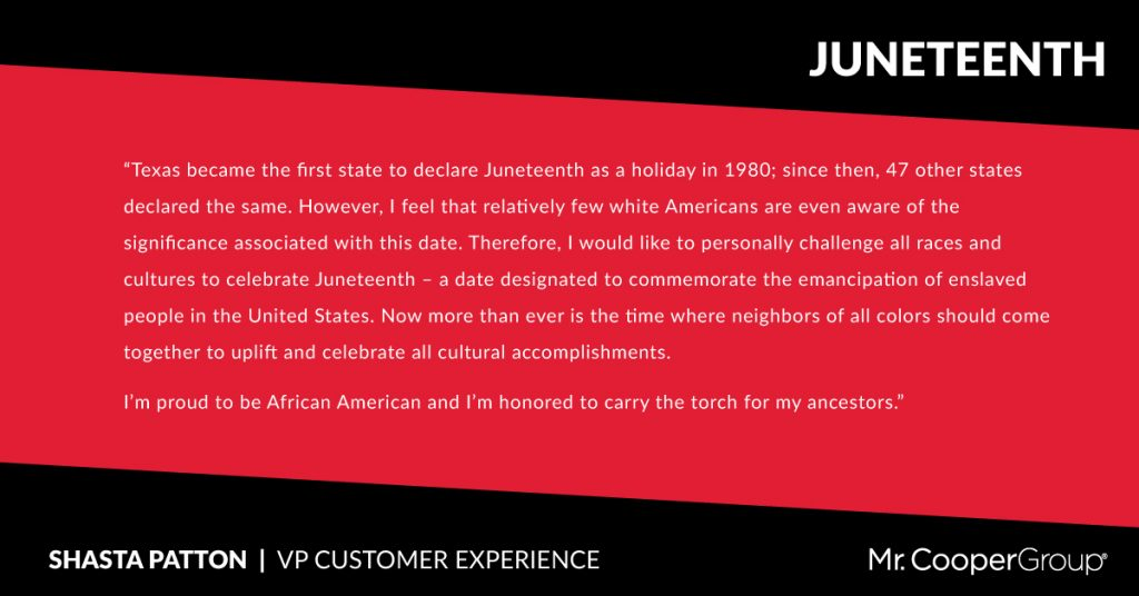 Juneteenth Quote from Shasta