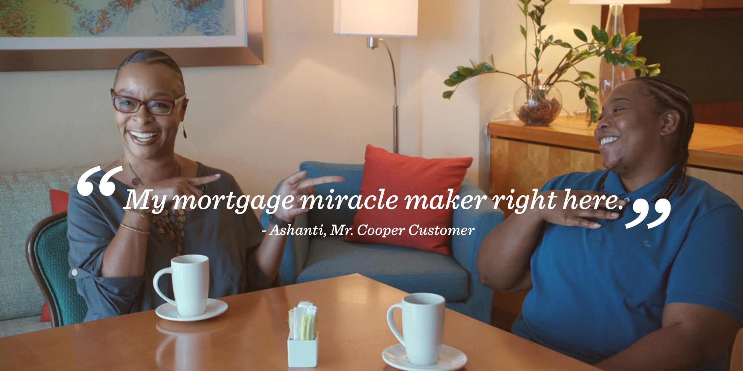 Ashanti's testimonial for Mr. Cooper