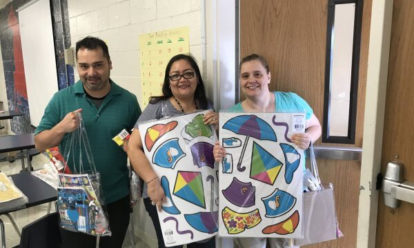 Mr. Cooper Volunteers Help Teachers Prep For New School Year