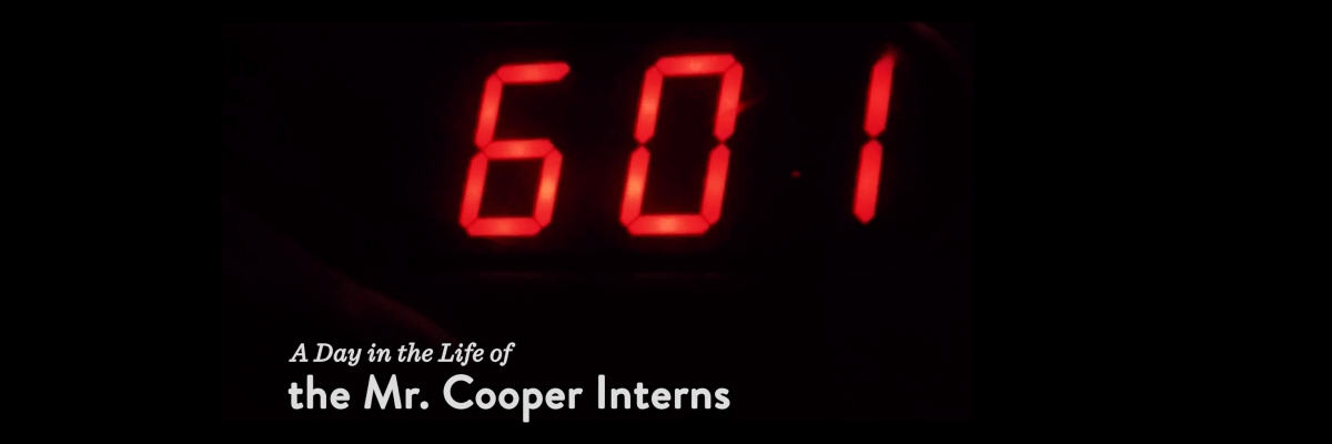 See Our Mr. Cooper Interns in Action