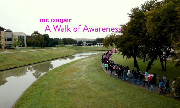 Mr. Cooper Teams Walk For Fellow Cooper Maria Landry Ross & Breast Cancer Awareness Month